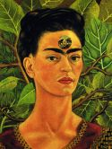 Frida Kahlo – Self-Portrait, Thinking About Death