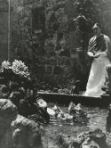 Gisele Freund photographs of Frida Kahlo in the garden of La Casa Azul  Throckmorton