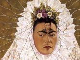 Frida Kahlo, Diego On My Mind (self-portrait as Tehuana), 1943, oil on masonite, The Jacques and Natasha Gelman Collection of Mexican Art © 2015 Banco de Mexico Diego Rivera Frida Khalo Museums Trust, Mexico.